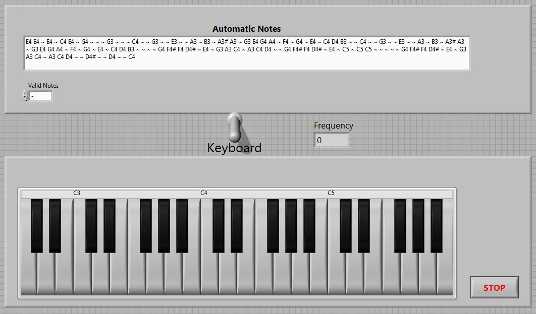 A Virtual Piano in LabVIEW [LabVIEW MakerHub]