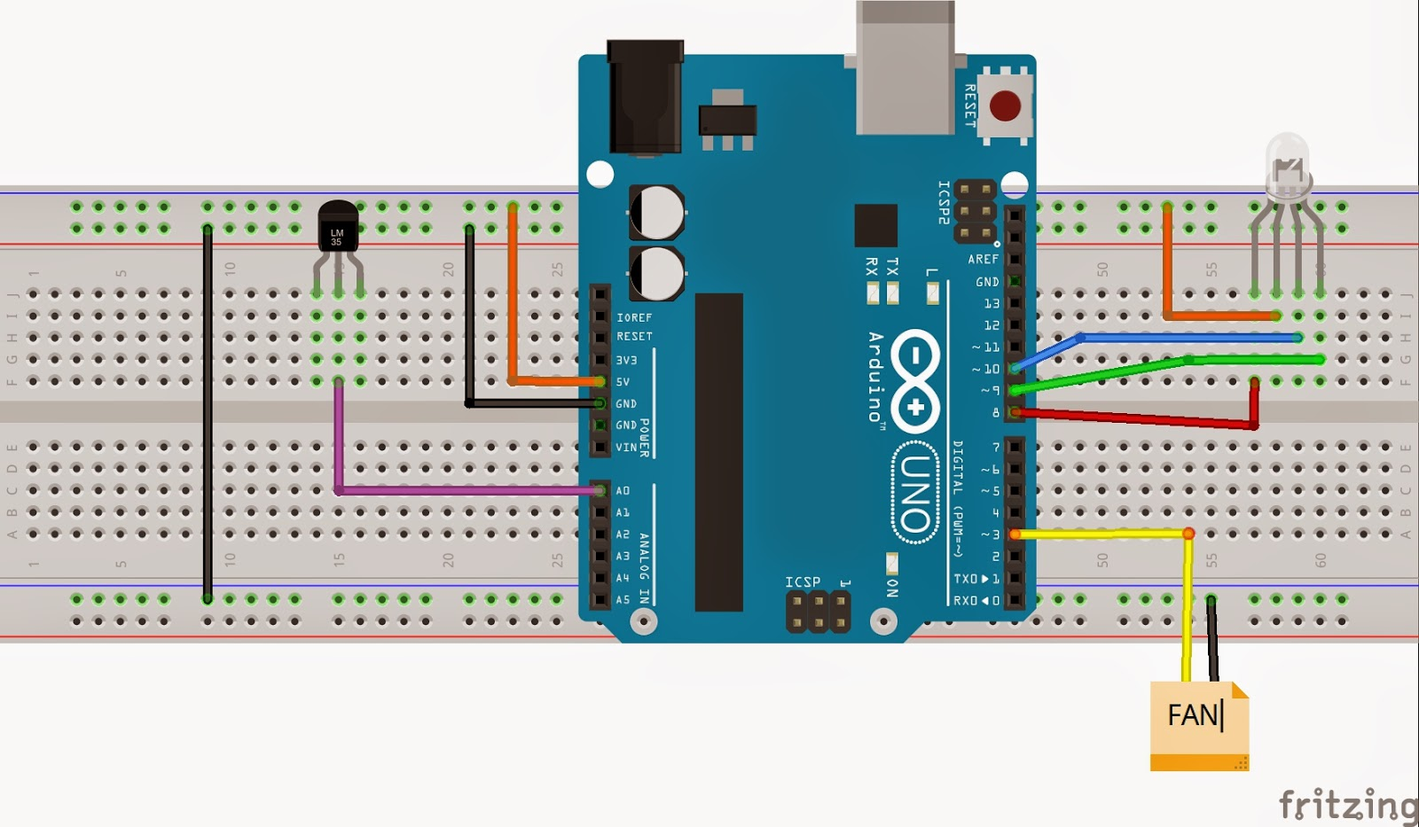 Temperature Controller Using Linx And Arduino Labview